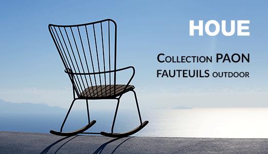 Collections Paon de fauteuils d'extérieur design  de la marque scandinave Houe