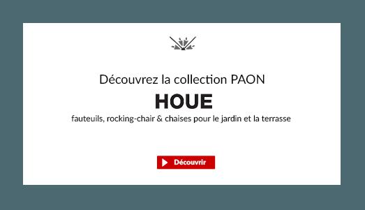 Découvrir la nouvelle collection Paon de fauteuils d'extérieur design de la marque scandinave Houe
